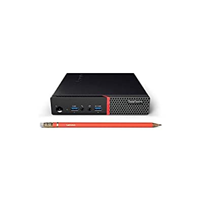 2017 High Performance Business Lenovo ThinkCentre M700 Tiny Desktop - Intel Dual-Core i3-6100T 3.2GHz, 8GB DDR4, 500GB HDD, 802.11ac, Bluetooth, HDMI, USB 3.0, Windows 10(USB Mouse & Keyboard Include)