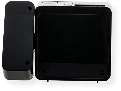 Oregon Scientific RM338 Alarm Calendar Dual Alarm, Black