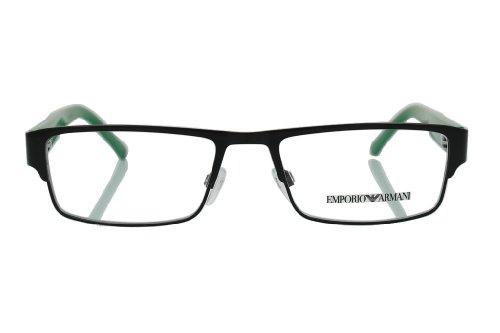Emporio Armani Eyeglasses EA1005 3014 Black Demo Lens 52 17 140
