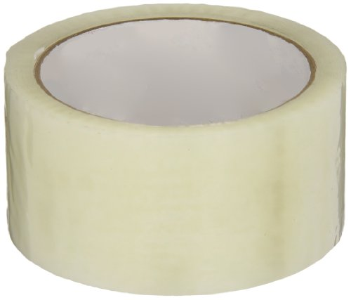 Intertape Polymer Group F4070 7100 Medium Grade Hot Melt Carton Sealing Tape, 1.85 mil Thick x 50M Length x 48mm Width, Clear, Case of 36 Rolls from Intertape Polymer Group