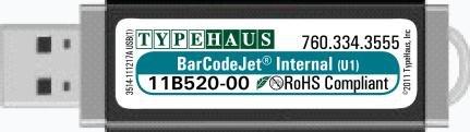 BarCodeJet Internal for Host USB HP LaserJet Printers by TypeHaus, Inc