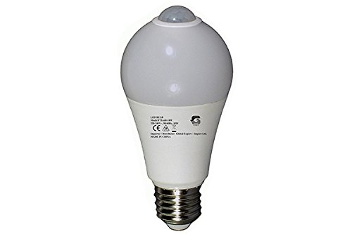 Lámpara LED con luz de & Sensor de movimiento