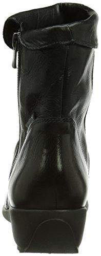 Seddy Texas mujer Negro Boot Mephisto 7900 para AOdww0q