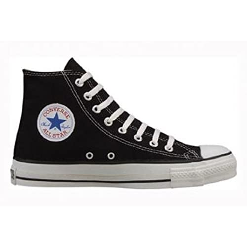 2e9e4d4ea43d4e Converse Chuck Taylor All Star Hi Top Black Canvas Shoes with Extra Pair of  Grey Laces