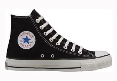 Converse Chuck Taylor All Star Hi Top Black Canvas Shoes with Extra Pair of Grey Laces mens 11.5 cFgOKtEP