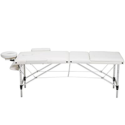 Tamsun 3 Fold Portable Massage Table Facial SPA Bed