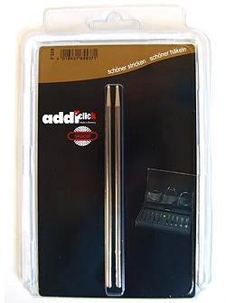 addi Click Interchangeable Knitting Needle Tips Turbo Basic Set 5 inch (13cm) Size US 09 (5.5mm)