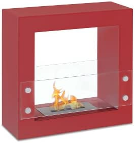 Ignis Tectum ミニ自立式通気口なしエタノール暖炉 FSF-010R 1