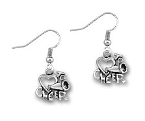 Infinity Collection Cheer Earrings - Cheer Jewelry, for Cheerleaders, Cheer Teams, Cheer Moms and Cheer -
