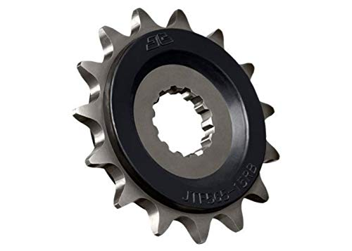 (97-18 Suzuki GSXR600: JT Steel Front Sprocket (520 / 15T / OEM Rubber Cushion))
