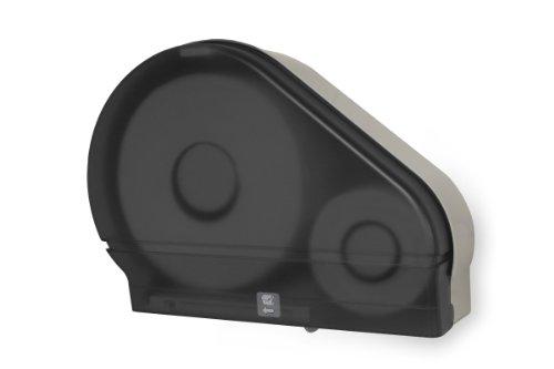(Palmer Fixture RD0024-01F Jumbo Roll Tissue Dispenser with Stub Roll, Dark Translucent )