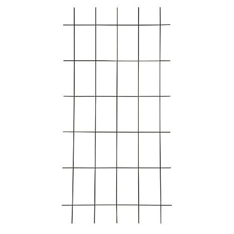10 Stück Gitterspalier Gitter Spalier Rankhilfe Rank Hilfe 150 x 60 cm braun neu