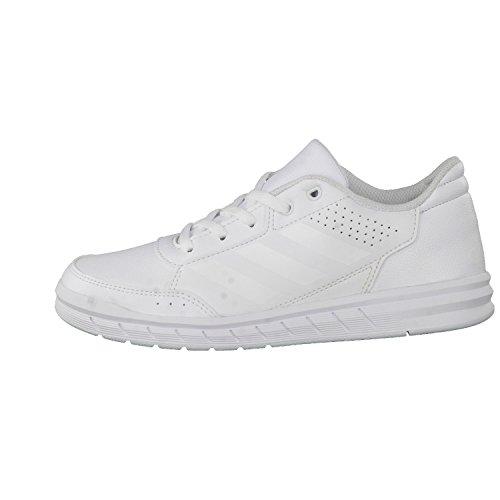 adidas Altasport Cf, Zapatillas Deportivas para Interior para Niñas, Blanco / Rosa blanc/blanc/gris clair