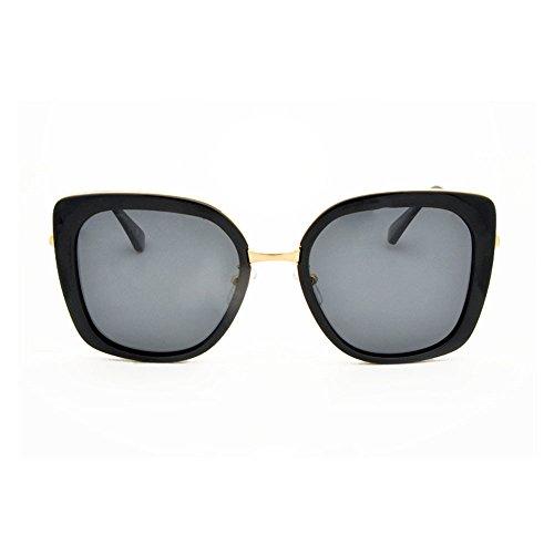 sol para de antideslumbrante Gafas montura es La sol polarizadas aire muje al adecuada para polarizadas luz antivibratorias conducir de de sol libre para Gafas conducir gafas completa y gafas Black de con CqZT54UwX