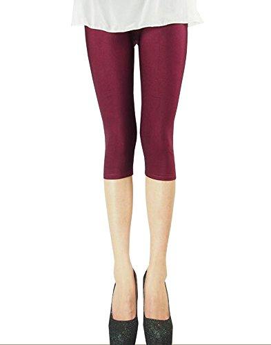 rosso Di Sottili nero Yoga Esercizio Blu Leggings Ghette Donna Pantaloni verde Bozevon Da Legging Rosso Dimagrante Strette BwOAFY4q