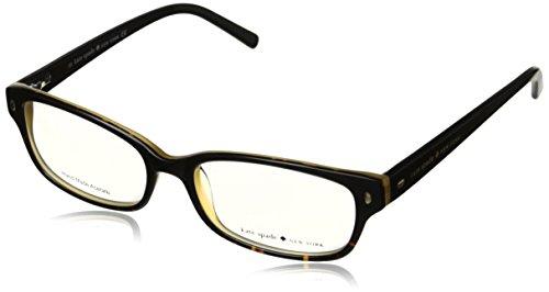 Kate Spade Lucyann Eyeglasses-0JYY Black Tortoise Fade-51mm