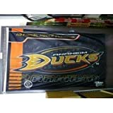 Signed Ducks, Anaheim (2009-2011) 36x60 Flag/Banner from the years of 2009-2011 autographed