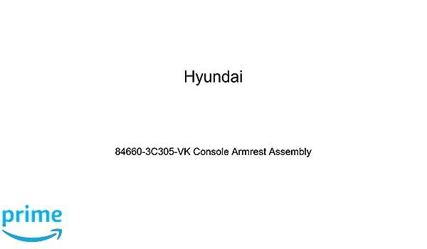 Genuine Hyundai 84660-3C305-VK Console Armrest Assembly