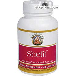 Shefit - Female Health Support (Ayurveda Herbal Trade) - 60 Capsules (60 ()