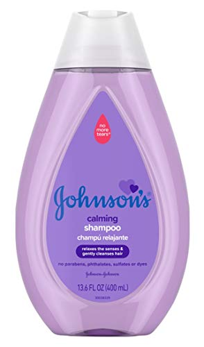 Johnsons Baby Shampoo Calming 13.6 Ounce (400ml) (2 Pack)