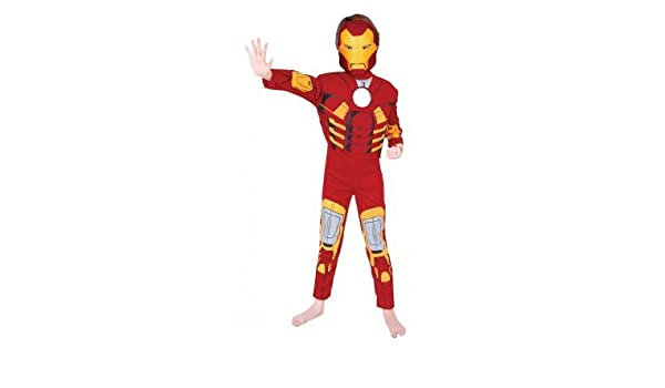 Rubies RU881324S traje de iron man premium 3/4: Amazon.es ...