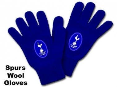 Spurs Crest Wool Gloves Tottenham Hotspur