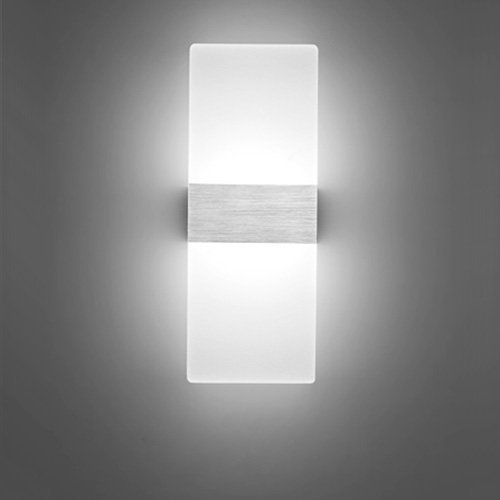 good 6W LED Wall Sconce - VERTTEE Mini Size Simple Wall Light ...