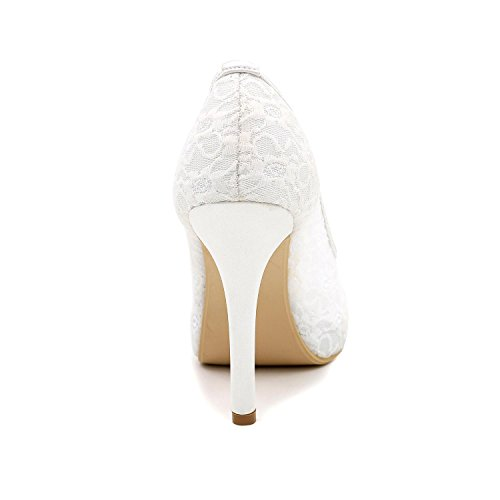 L Boda Toe Múltiples Colores Con Sandalias Mujer Zapatos Altos Peep Personalizados Fiesta Fino De Noche Black yc Tacones wtrwZ1Fq