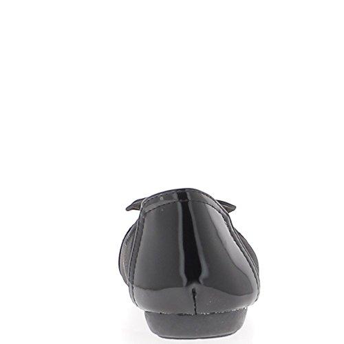 Ballerine di punte nere vernice