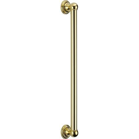Delta Faucet 40024-PB ADA Grab Bar, Polished Brass (Universal Components Pb Showering)