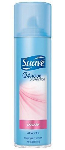 Suave Deodorant 6 Ounce 24Hr Powder Aerosol (177ml) (2 Pack)