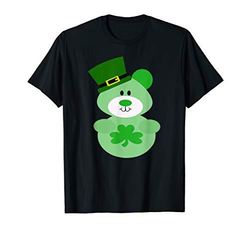 Leprechaun Teddy Bear With Hat St Patricks Day Shirts