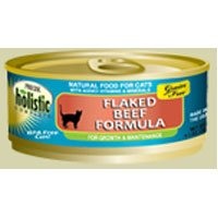 Precise Holistic Complete Grain Free Flaked Beef Formula Canned Cat Food, My Pet Supplies