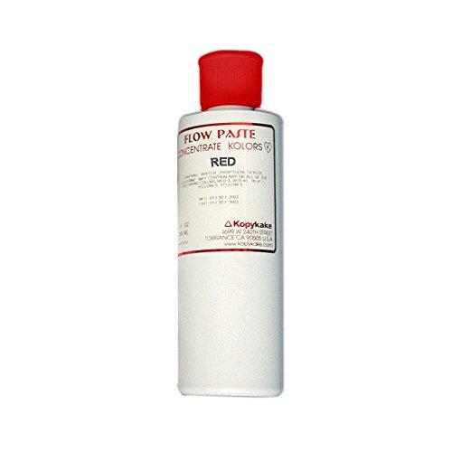 Kopykake FPRED Kroma Flow 9 Oz Red Paste