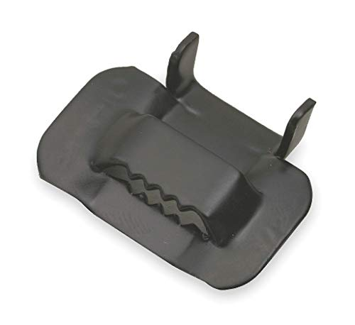 - Band-It Strapping Buckle, 1/2 In, Serrated, PK50 - GRC254-P900