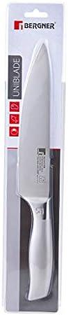 Bergner Cuchillo Chef de Acero Inoxidable, 20 cm