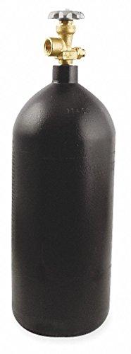 UNIWELD Empty Fuel Cylinder, Nitrogen, 40 cu. ft, 22-1/2