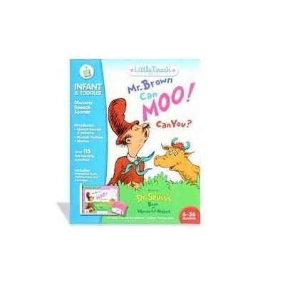 LittleTouch LeapPad: Dr. Seuss's Mr. Brown Can Moo! Can You?: Toys & Games