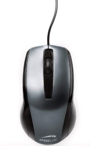 Speedlink Relic 3-Tasten-Maus mit PS/2 Anschluss (für Rechts- und Linkshänder, 800dpi, PS/2)