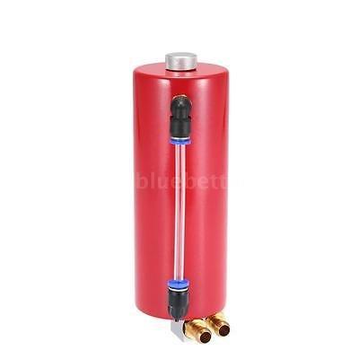 FidgetFidget Billet Aluminium Racing Engine Oil Catch Tank Can Reservoir Red Universal by FidgetFidget (Image #4)
