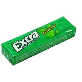 Wrigleys Extra Spearmint Sugar Free Gum 6 stick (box of 20)