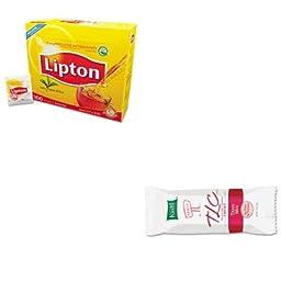 KITKEB37947LIP291 - Value Kit - Kellogg\'s Kashi TLC Chewy Granola Bars (KEB37947) and Lipton Tea Bags (LIP291)