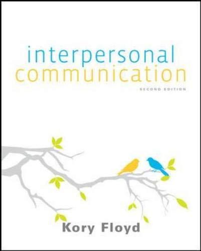 Interpersonal Communication - Standalone book