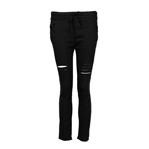 Bassa In A Skinny Pantaloni Trada Alta pantaloni Slim Pantaloni Dritte Nero gambe slim Cotone Vita pantaloni Nove Jeans Cargo Casual Pantaloni Con avagqpPH
