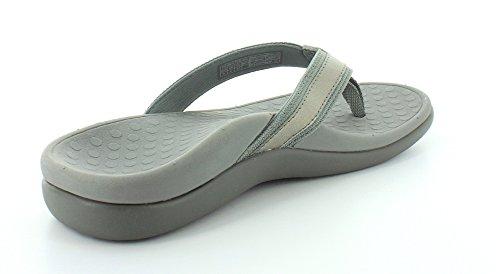 Orthaheel, sandales pour femme gris métallique pewter 6