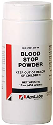 Blood Stop Powder -16oz by VEDCO