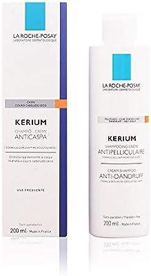 la Roche Posay Kerium Champú en crema micro exfoliante anticaspa - 200 ml (3433422407282): Amazon.es