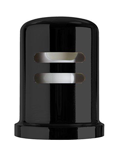 Westbrass Skirted Brass Air Gap Cap Only, Matte Black, (Brass Air Gap)