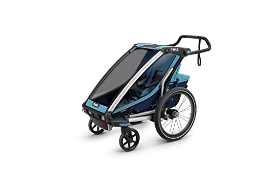 Thule Chariot Cross Sport Stroller- Single - Thule Blue/Poseidon
