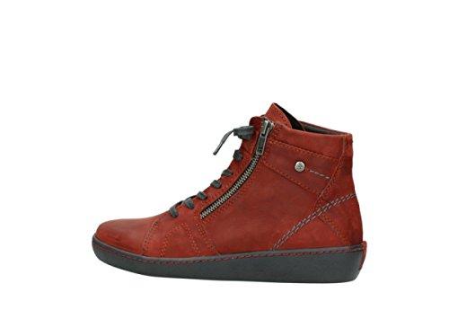 Rosso Scarpe Oliato Inverno Zeus Lace Wolky Cuoio Comodità 50540 Up Della 6O1qnOBXxz